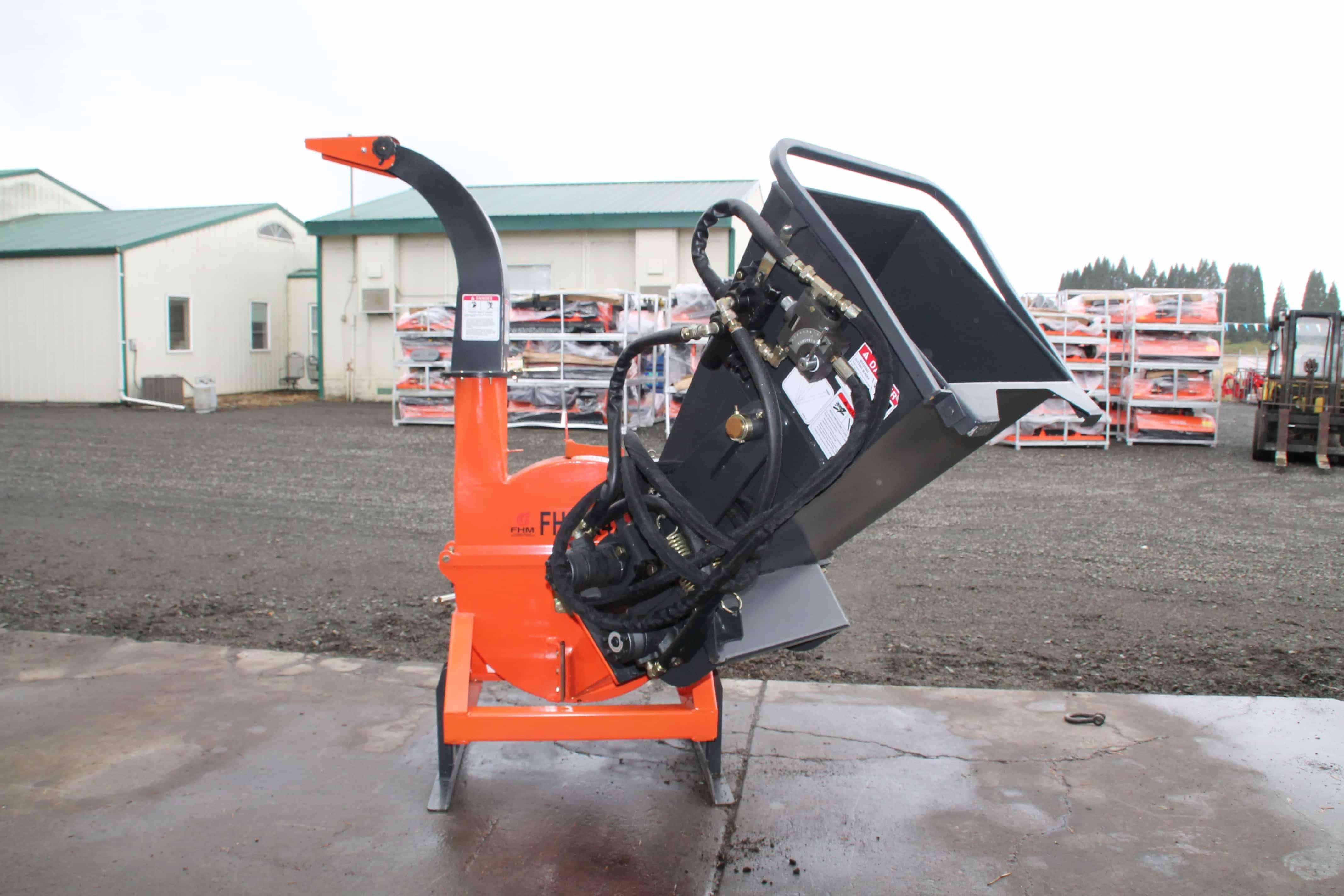 """4"""" Hydraulic Feed Wood Chipper, FH-BX42R"""