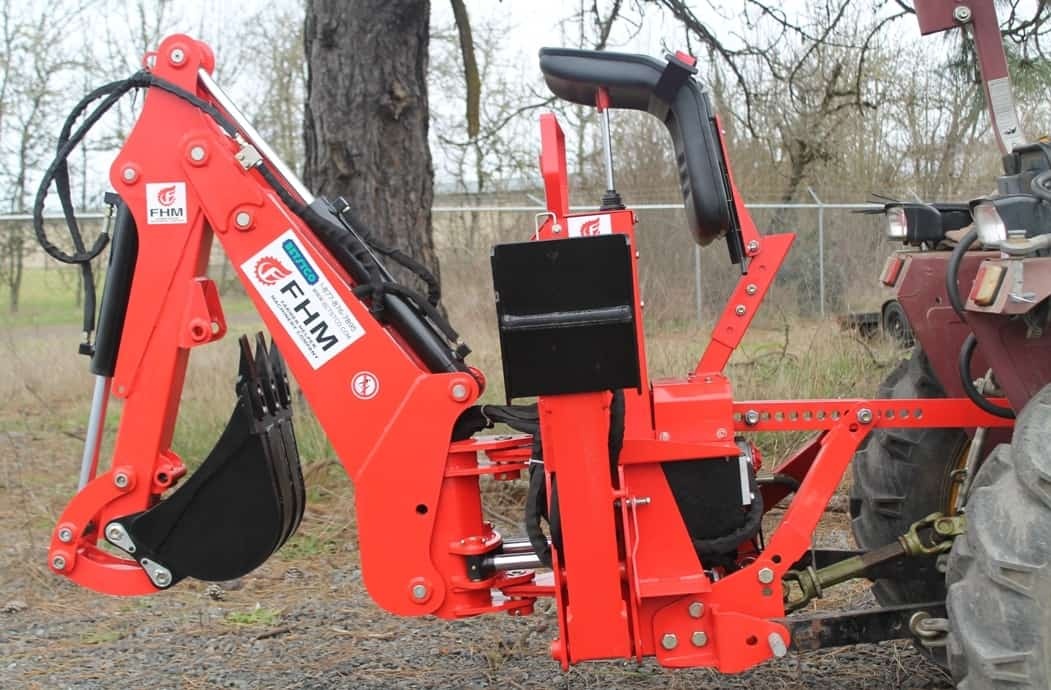 6' Dig Self Contained Backhoe, FH-BH6