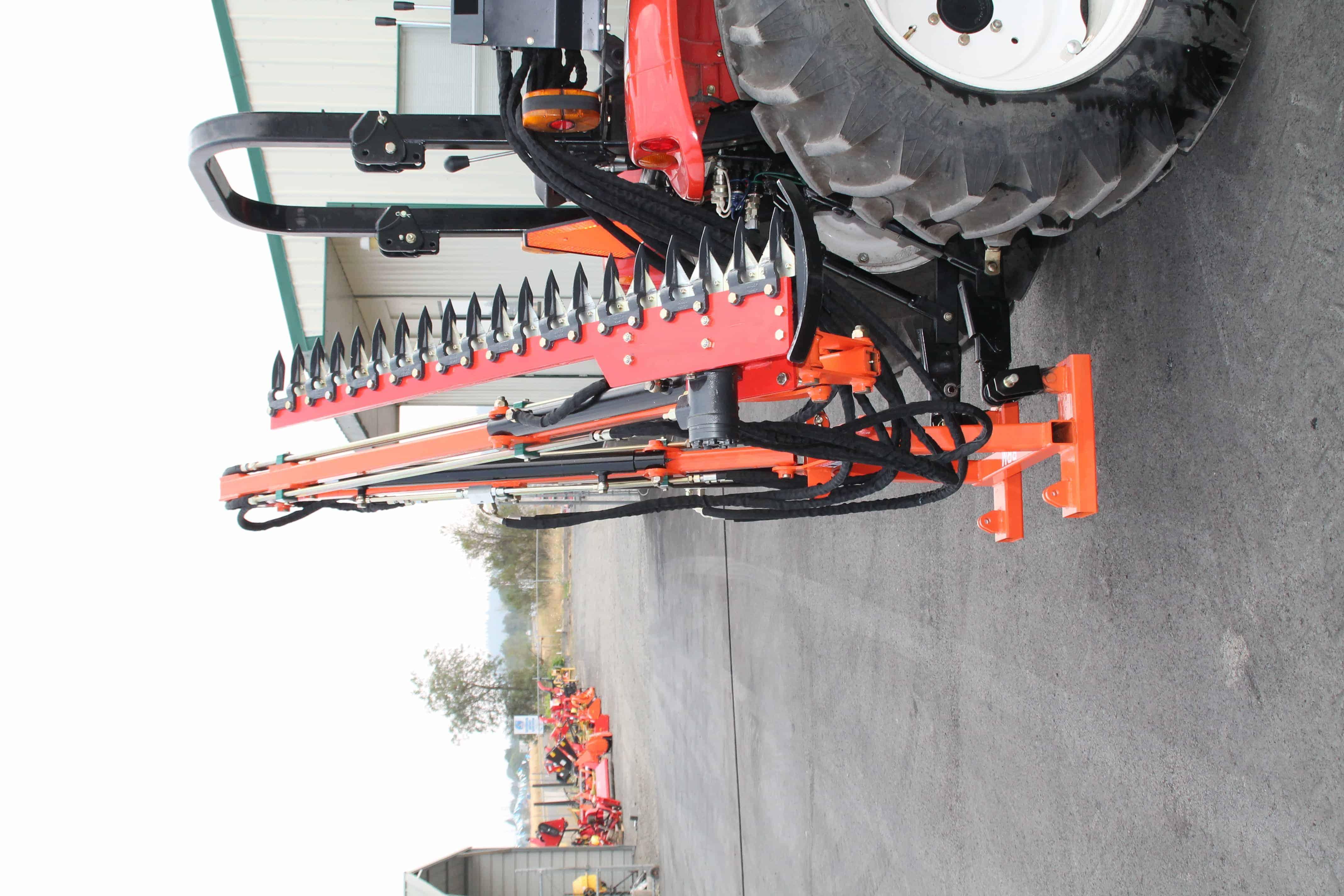 Hydraulic Boom with 5' Sickle Brush Mower, FH-BRM150
