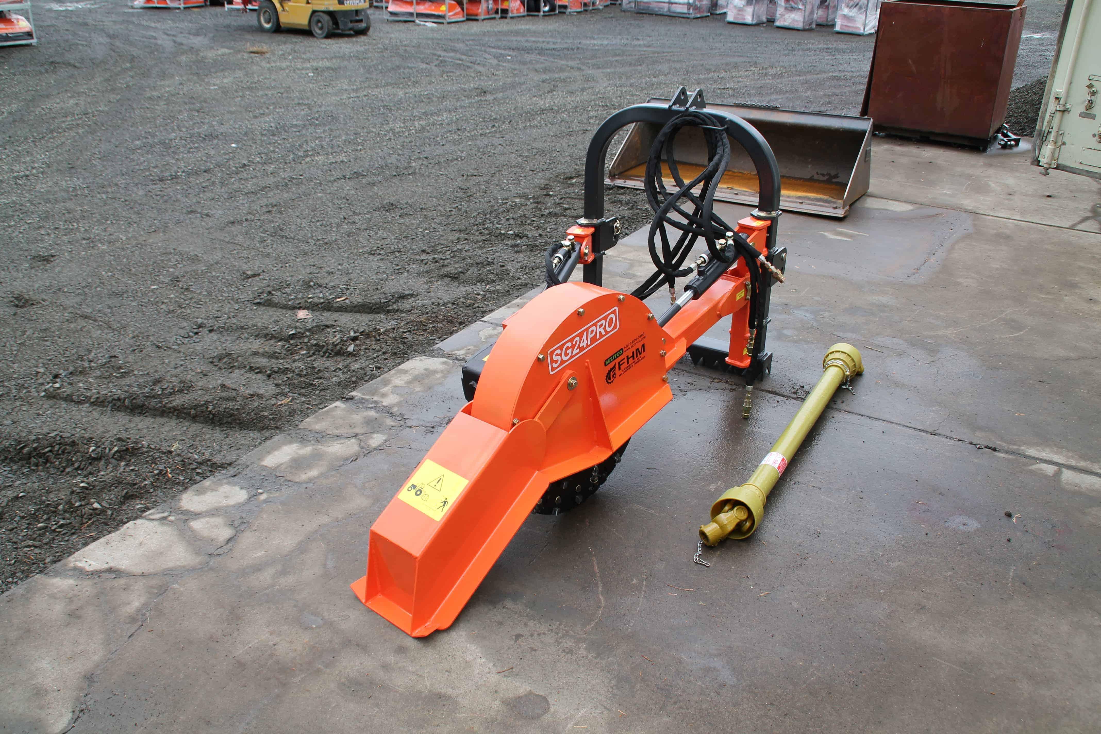 3 Point Stump Grinder >> 2-Way Hydraulic Stump Grinder, FH-SG24-PRO