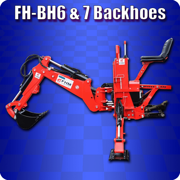 fh 6 and 7 backhoe