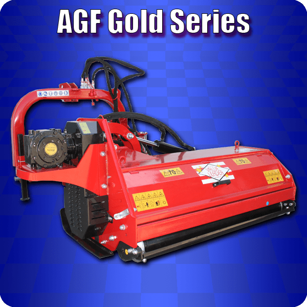 agf gold ditch bank flail mower