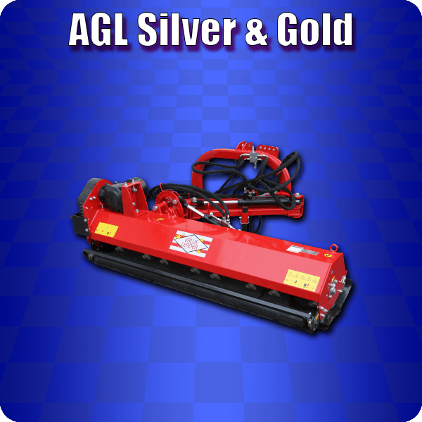 agl silver and gold ditch bank mower