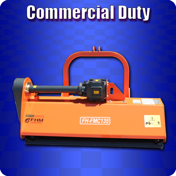 commercial duty flail mowers