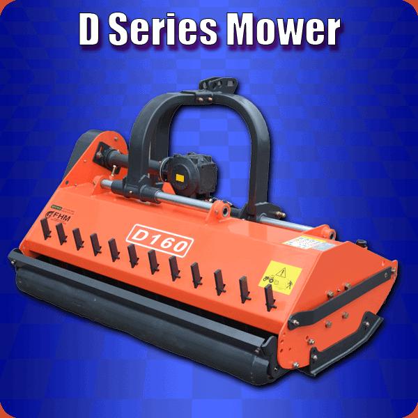 d series super heavy duty flail mower