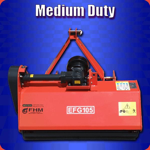 medium duty flail mower