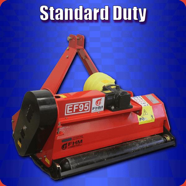 standard duty flail mower