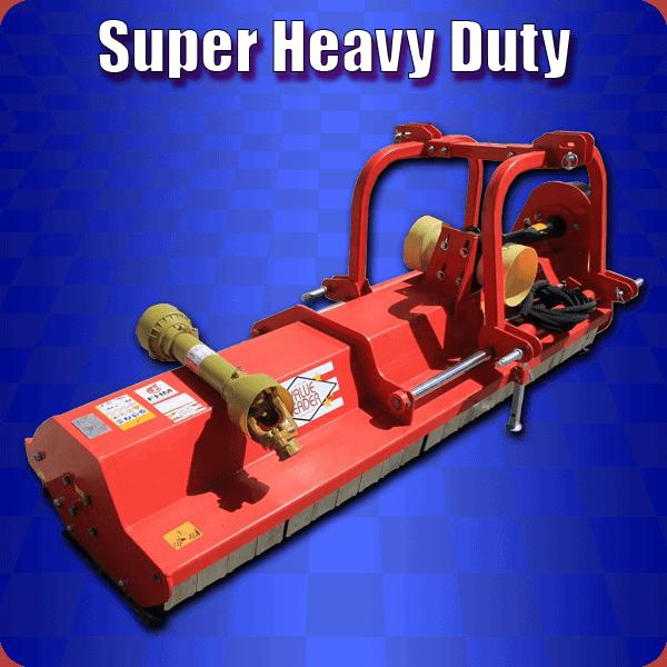 super heavy duty flail mower