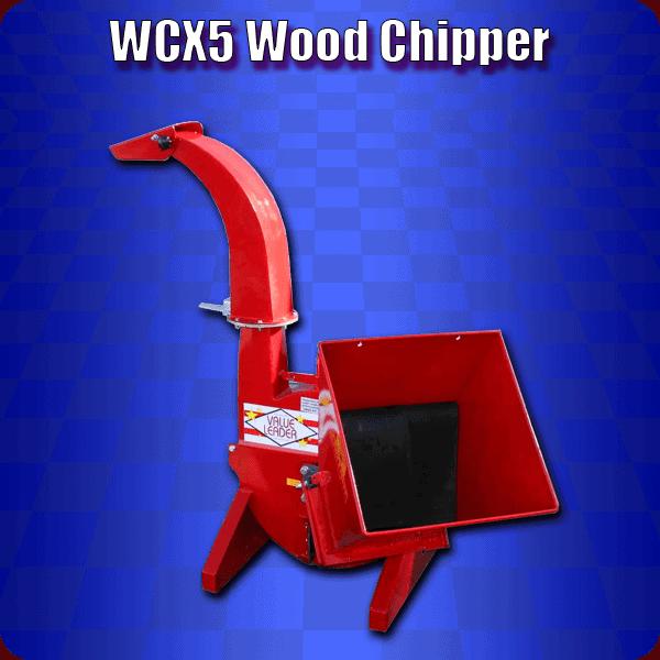 wcx5 wood chippers