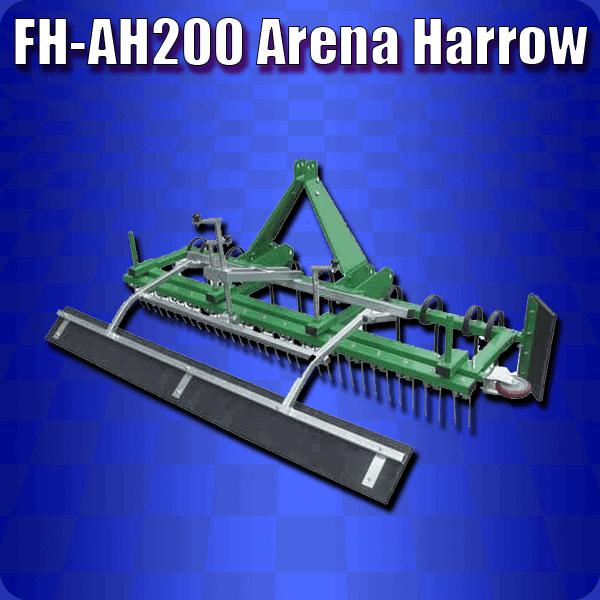 FH-AH200 Arena Harrow
